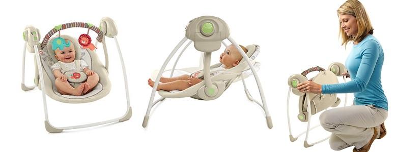 Design special: Oferta de balansoare bebelusi si leagane de pe ShopAlert