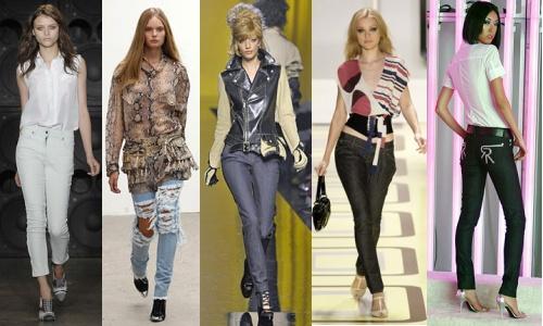 Modele de blugi dama evazati, slim sau cu talie joasa pe site-ul ShopAlert