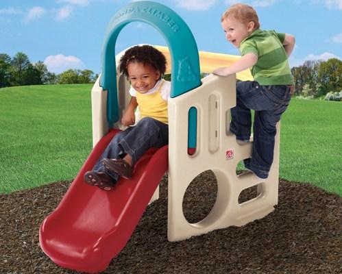 Sectiunea de tobogane copii si trambuline in oferta ShopAlert
