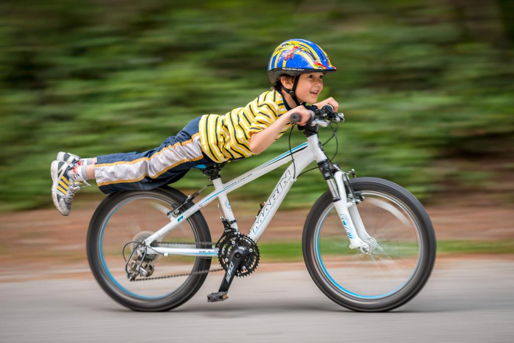 Paşii spre prima bicicletă a copilului
