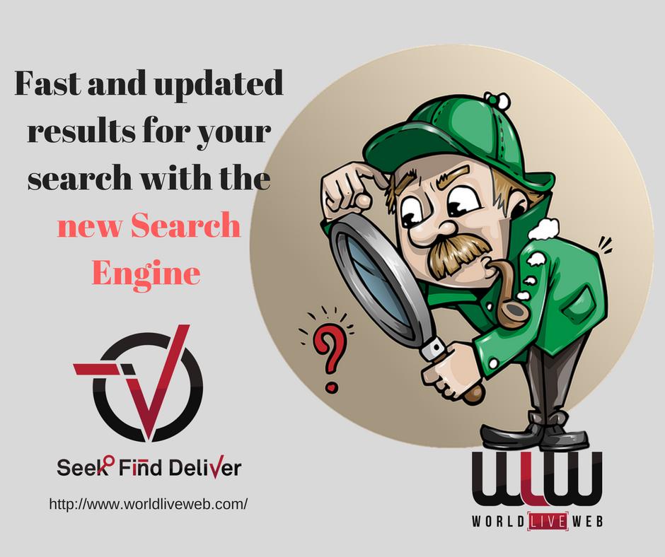 Rezultate exacte cu noul motor de cautare- Seek Find Deliver