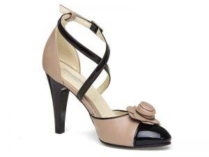 sandale din piele de dama