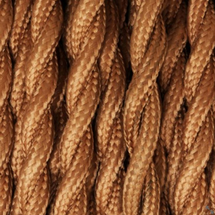 Cablu textil pentru conectarea unui bec vintage