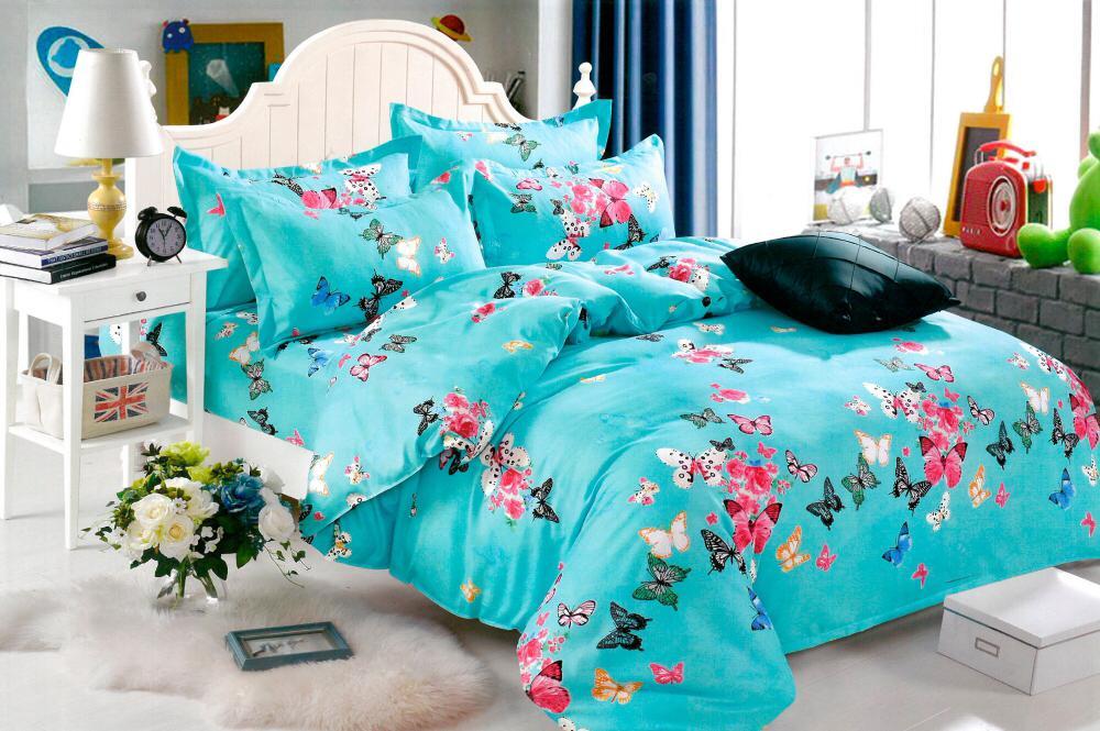 Lenjeria de pat din finet, in stil modern